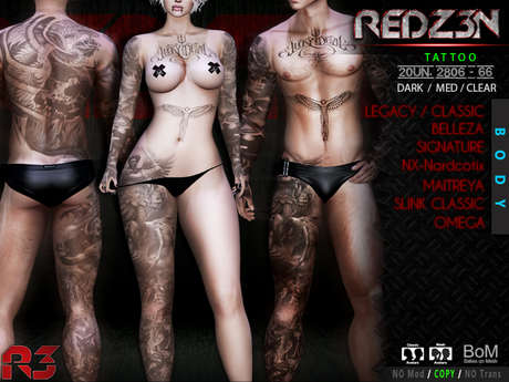 [ R3 ] Tattoo & Applier 20UN. 2806 - 66