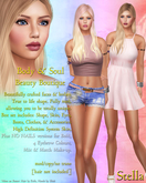 Body & Soul - Complete Avatar - BEAUTY BOUTIQUE - NEW Stella