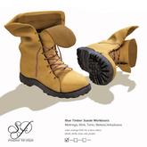 Snowpaws - Timber Work Boots - Tan