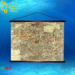 Wall Hanging Old Map 27 boxed