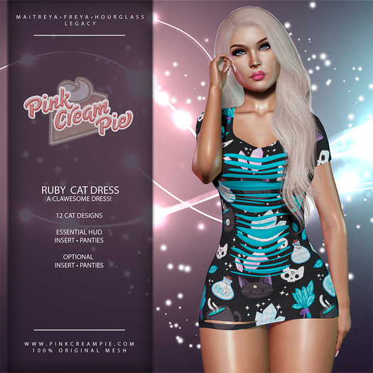 !PCP :: Ruby Dress [Cat Pack]