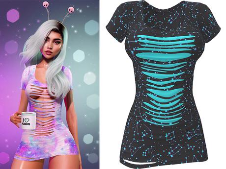 !PCP :: Ruby Dress [Galaxy Constellations]