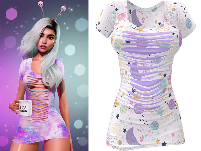 !PCP :: Ruby Dress [Galaxy Dreams]