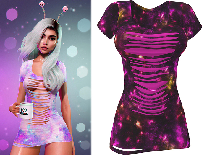 !PCP :: Ruby Dress [Galaxy Magenta]