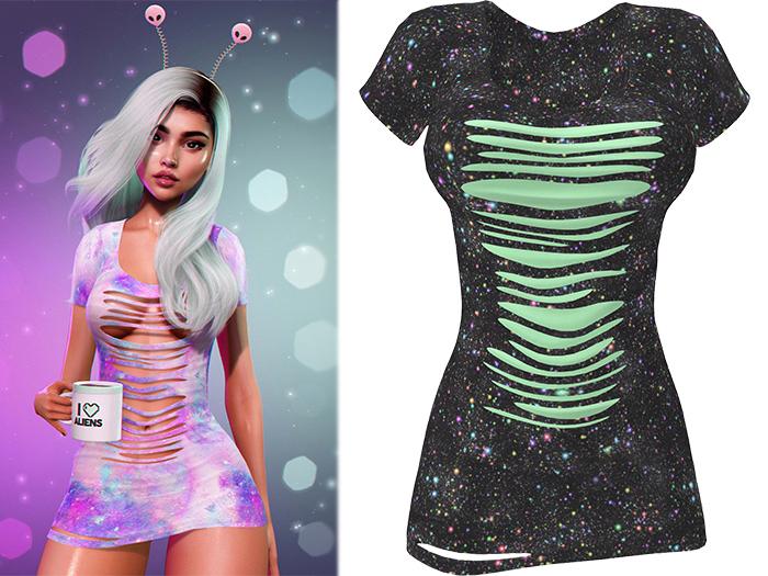 !PCP :: Ruby Dress [Galaxy Rainbow]