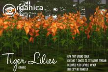 [ Organica ] Tiger Lilies (Orange)
