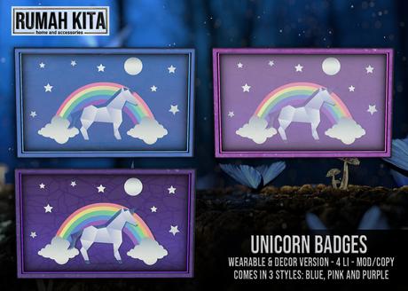 Rumah Kita - Unicorn Badges