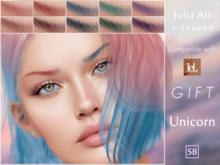 Eyebrows, LeLutka Evolution: JuliaAir.S.Shaped.Unicorn.GIFT