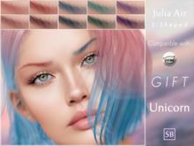 Eyebrows, Catwa: JuliaAir.S.Shaped.Unicorn.GIFT