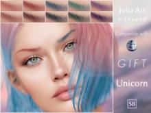 Eyebrows, Genus: JuliaAir.S.Shaped.Unicorn.GIFT