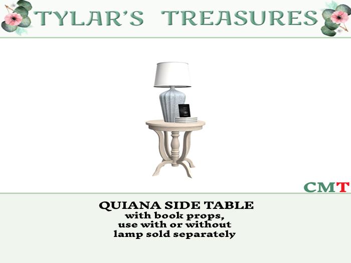 .:TT:.  QUIANA SIDE TABLE  add me!