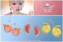 MAKOKOI . Cute Fruit Earrings