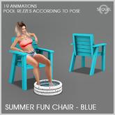 Sequel - Summer Fun Chair - Blue