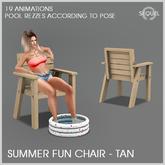 Sequel - Summer Fun Chair - Tan