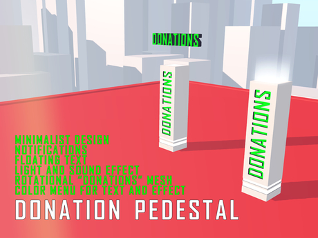 Donation Pedestal