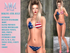 M&M STYLE-BIKINI Independence Day- 4TH JULY
