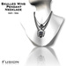 :Fusion: Skull Winged Pendant Necklace