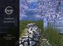Synnergy// Garden Backdrop