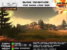 Island Adventure for 64x64 land size or sky platform