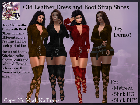 Old Leather Dress and Boot Strap Shoes