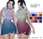 DEMO Eyelure Soft Jersey Slit Dress