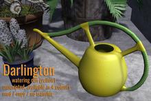 [ Organica ] Darlington Watering Can (Yellow)