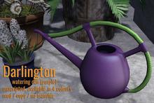[ Organica ] Darlington Watering Can (PURPLE)