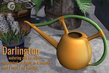 [ Organica ] Darlington Watering Can (ORANGE)