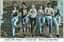 SuBLiMe PoSeS - Connected - Bento Group Pose
