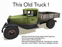 Old School Pickup Truck With Advanced Performance!