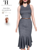 Thalia Heckroth - Masa dress PEBBLE