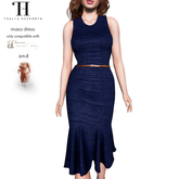 Thalia Heckroth - Masa dress BLUE ZODIAC