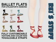 Rei's Stuff - Ballet Flats for Kemono