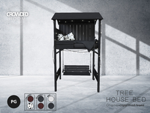 Crowded Room - Tree House Bed - PG - Black (ADD ME)