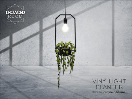 Crowded Room - Viny Light Planter (ADD ME)