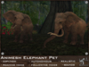FaceDesk - Animesh Elephant Pet - Roaming, following, autonomous