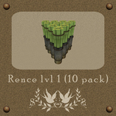 Rence lvl 1 10 pack