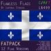 Quebec, Canada Flag (Fatpack, 12 Versions)