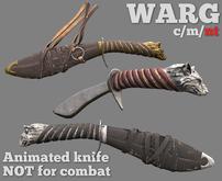 PFC~Warg dagger