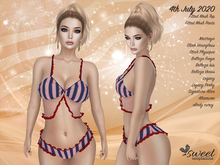 PROMO - ST :: 4th July 2020 Outfit for Maitreya Lara, Slink, Belleza , Legacy, eBody, Altamura & Signature.