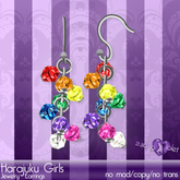 {Violet Voltaire} Harajuku Girls Earrings