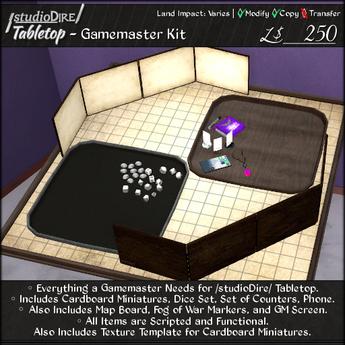 /studioDire/ Tabletop - Gamemaster Kit