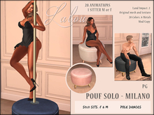 -{ Lalou }- Pouf Solo - Milano (PG) - with poledances and sits