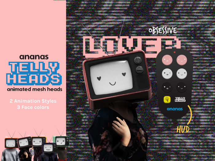 Ananas// Telly Heads - Obsessive LOVER