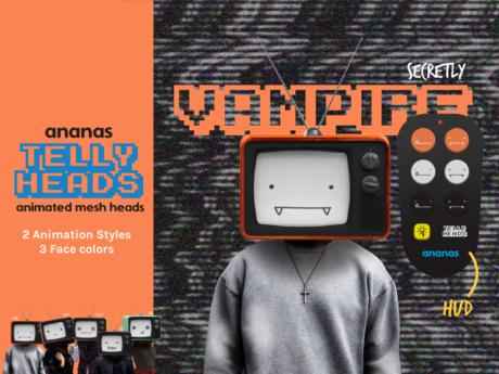 Ananas// Telly Heads - Secretly VAMPIRE