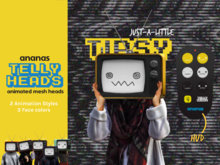 Ananas// Telly Heads -Just-a-little TIPSY