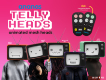 Ananas// Telly Heads - FATPACK!