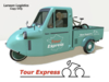 Tour Express Bicycle Race Support Truck!