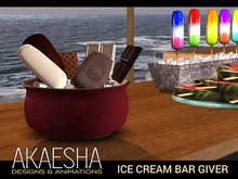 [Akaesha] Ice Cream Bars in a Bowl (touch for treat)