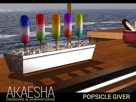 Bento Popsicle Giver  - Serves Popsicles, Fits any Bar, Perfect for Party or Celebration